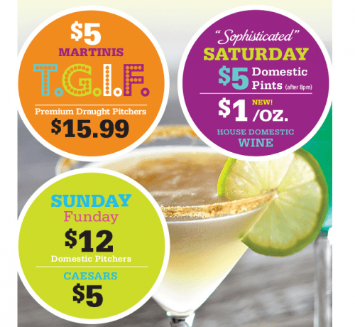 Kelsey's Restaurants Daily Drink Deals In Canada: Get A