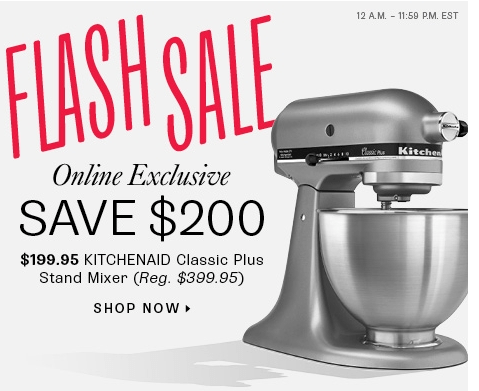 KitchenAid Coupons, Sales & Promo Codes. For KitchenAid coupon codes and deals, just follow this link to the website to browse their current offerings. And while you're there, sign up for emails to get alerts about discounts and more, right in your inbox. Jump on .