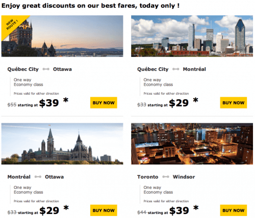 Cheap train deals canada