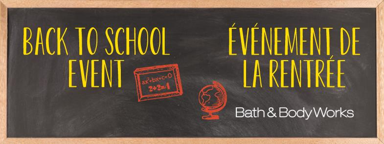bath and body back to school