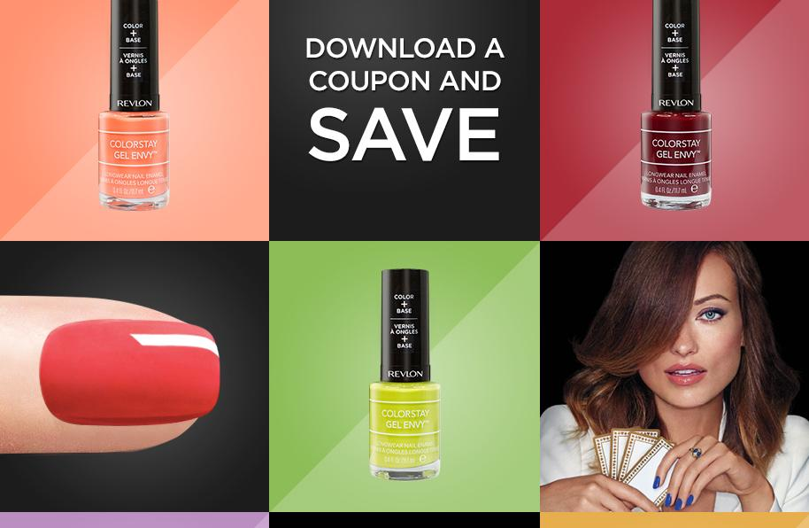 Canadian Coupons: $2 off Revlon Colorstay Gel Envy Diamond Top ...
