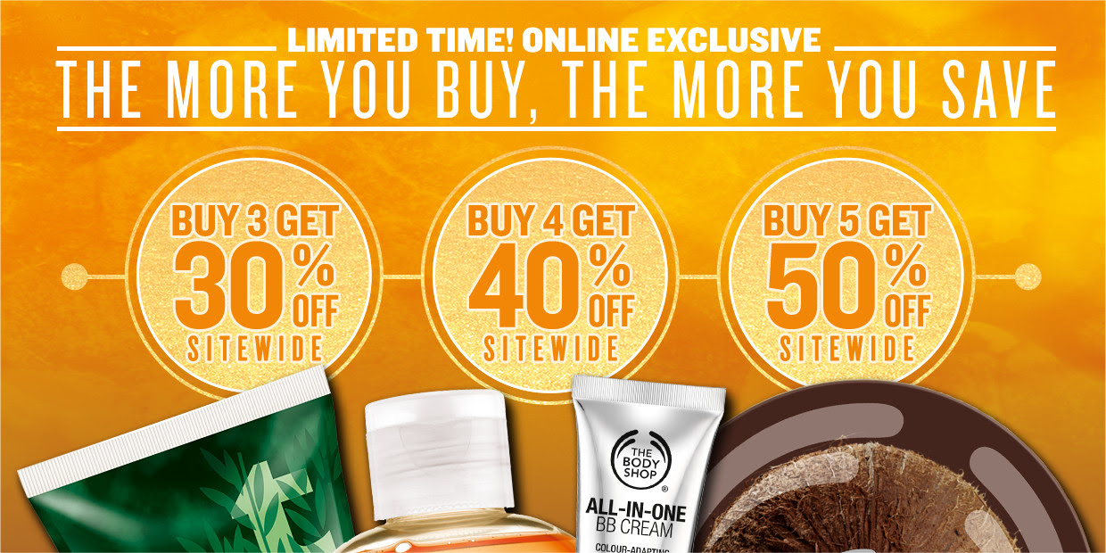 body shop buy more save more