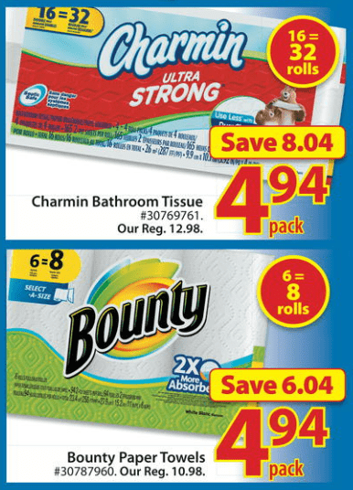 Walmart Canada Hot Rollback Deal Charmin Toilet Paper