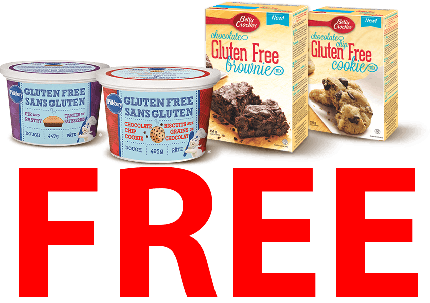 gluten free product coupons canada