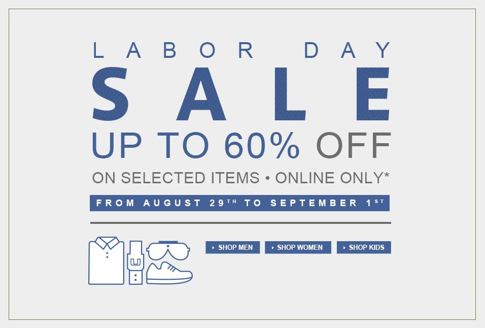 lacoste labour day