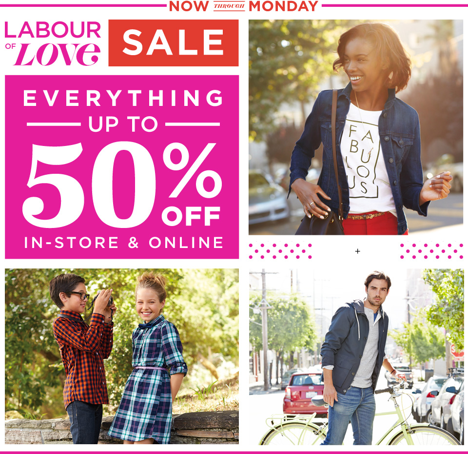 old navy labour day