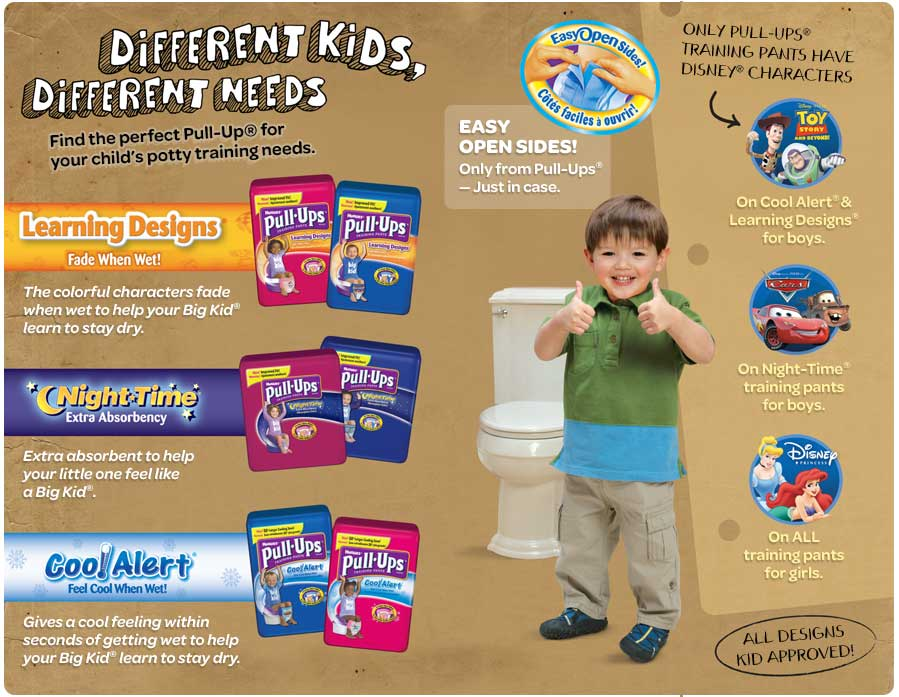 picture regarding Pull Ups Printable Coupons identified as Huggies Pull-Ups Canada Printable Discount coupons: Help you save $2.00 Off