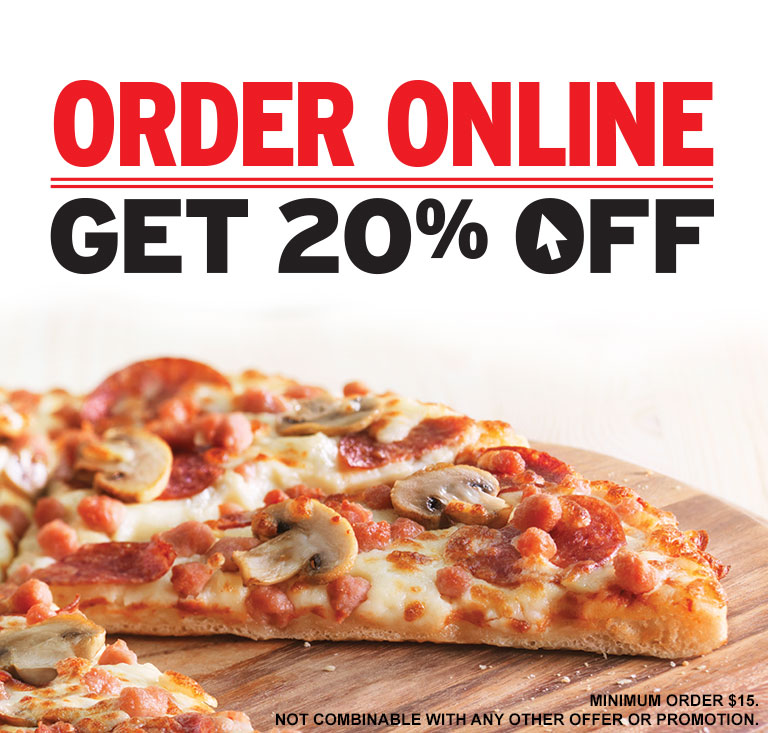 Pizza hut coupon code 20 off
