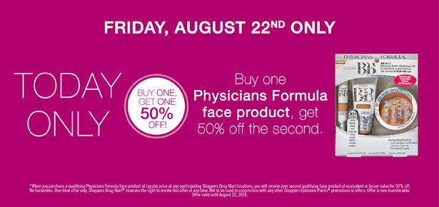 shoppers beauty deal august 22