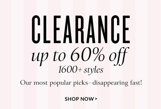 Victoria s secret clearance sale save up to 60 off over 1600