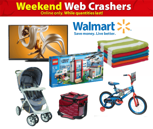 Walmart Smart Tvs On Sale This Weekend: Walmart.ca Long Weekend Webcrashers: Save On Hundreds Of