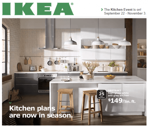 Ikea canada sale the kitchen event is on now get 200 Ikea kitchen sale event