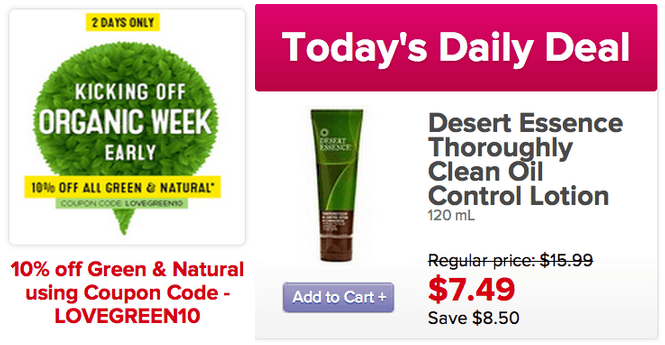 Online offers save 10 off green and natural for Gardening naturally coupon