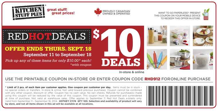 Red tag.ca coupon code