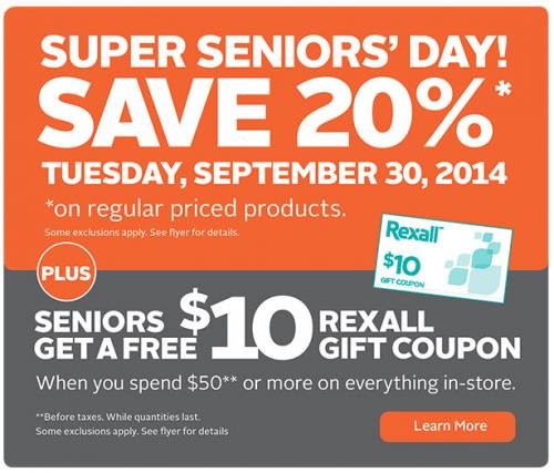 rexall seniors