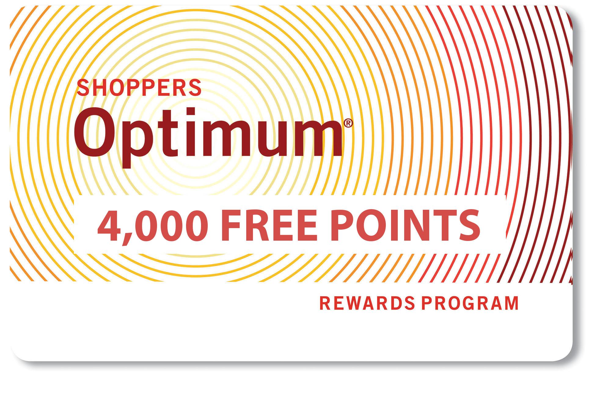 shoppers-optimum-points