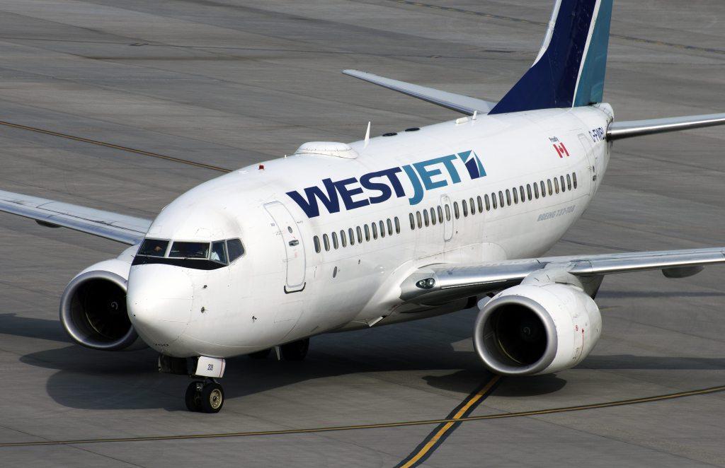 WestJet; Boeing 737