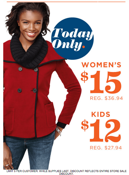 6815836b5 Old Navy Canada Thanksgiving Jackets Sale: Get Women's Jackets for $15 &  Kids' For $12, Today