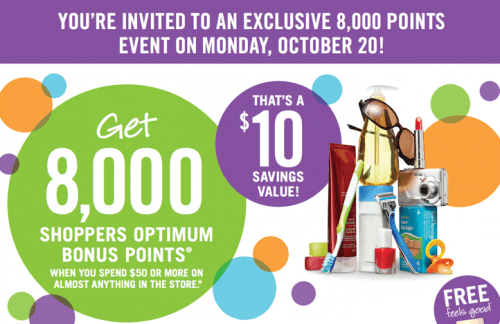 Shoppers Drug Mart Canada Printable Coupons for optimum points
