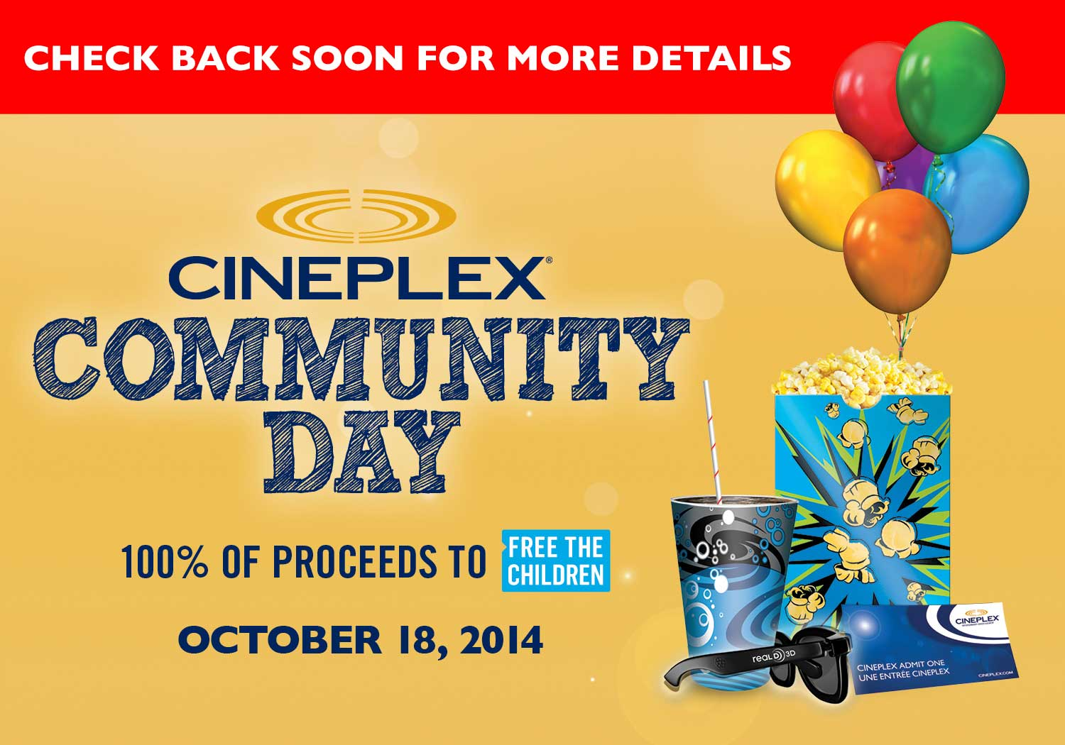 General Mills & hingcess-serp.cf Free Movie Giveaway. Everyone will win free Movie tickets with this cool promotion from General Mills and Cineplex Canada. It's easy too! All you need to do is buy the specially marked packages of General Mills Products.