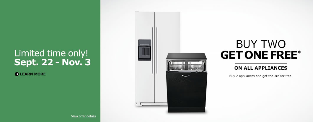 Ikea canada kitchen event offer buy two get one free on Ikea kitchen sale event