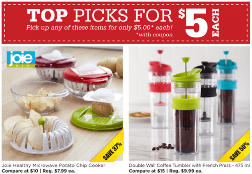 Kitchen stuff plus canada has just launched some brand new 5 red hot