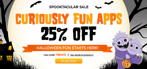 LeapFrog Canada Halloween Promo Codes Sale: Save 25% Off All