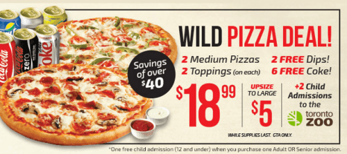 pizza pizza deal