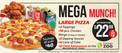 pizza pizza deal two