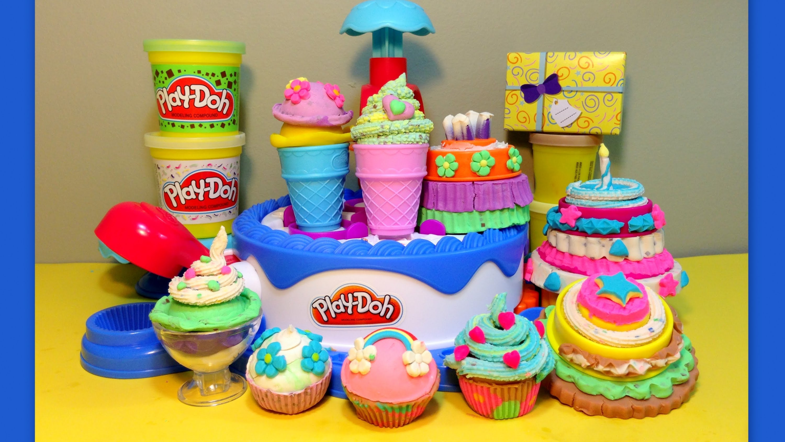 Play Doh Birthday Cake Set