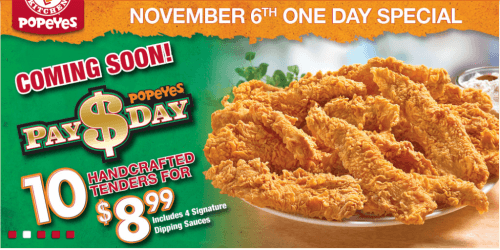 Popeyes canada coupons