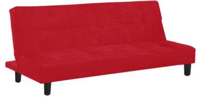 red walmart futon