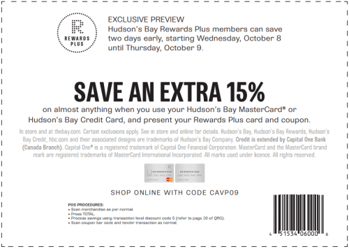 Hudson's Bay coupon codes and deals like free shipping are waiting! Use these special offers, sales, and promo codes while you shop your favorite brands.