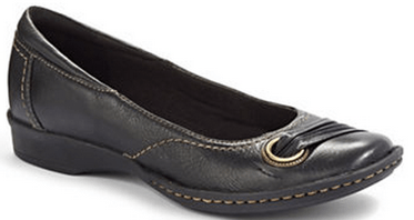 CLARKS Recent Drive Ballet Flats at the Bay