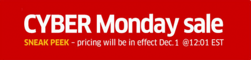Cyber Monday Sale at The Source