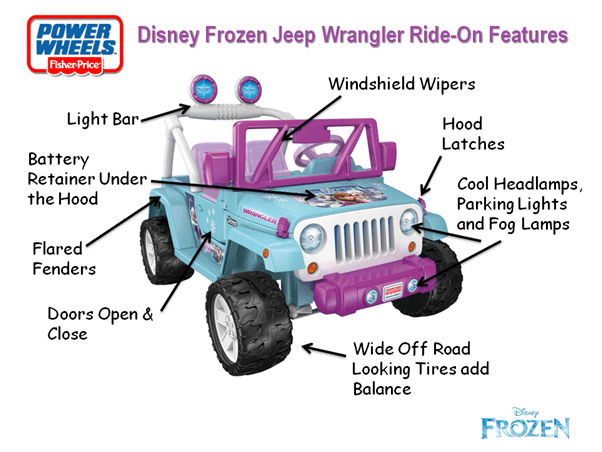 Disney-Frozen-Jeep-Wrangler-Front-View-Features