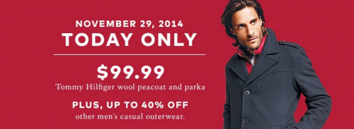 Hudson's Bay Canada One Day Sale