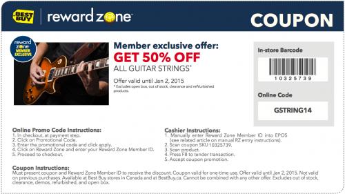 Best buy discount coupons canada