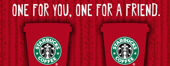 Nov 08,  · Watch video · For every holiday beverage you buy between 2 p.m. and 5 p.m. on those days at participating Starbucks stores, you'll get a second one on the house. More: Starbucks opens its first bakery with more.