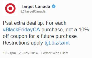Target 10 per cent