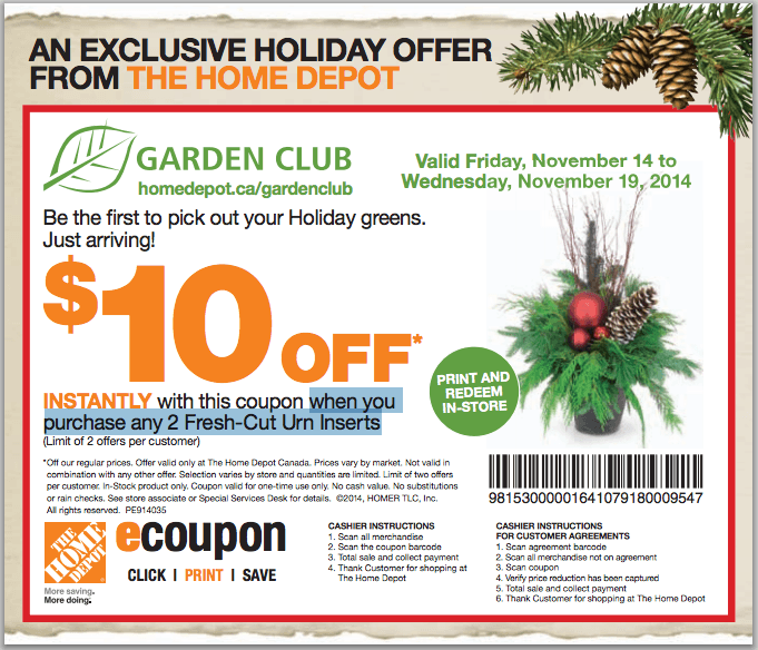 The Home Depot Canada Coupons Get 75 Off Promo Codes