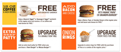 Printable restaurant coupons canada