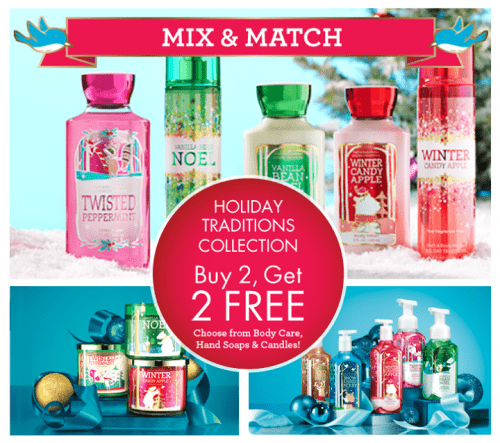 Bath And Body Works Sale 3 Wick Candles
