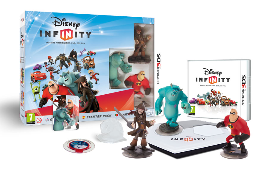 Disney Infinity Figures Starting at $12 + The Disney Infinity Game $54 Shipped