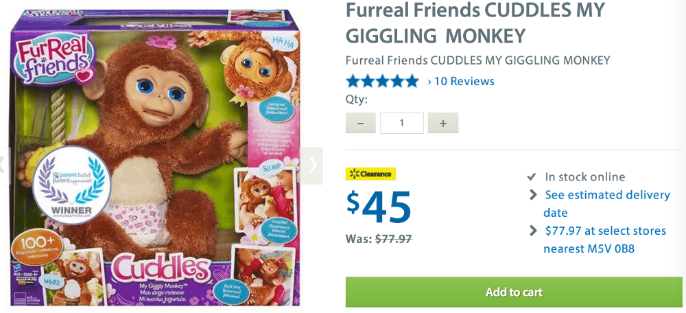 Furreal friends coupons
