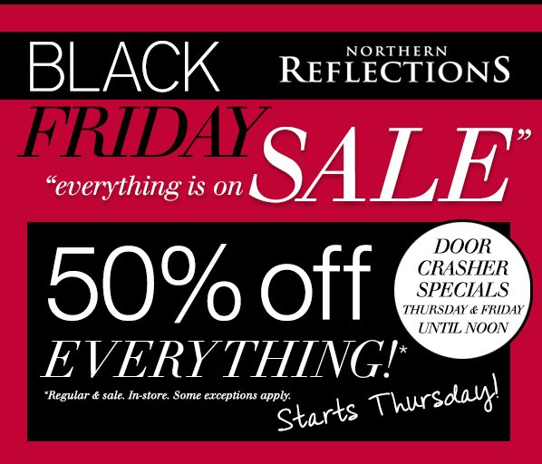 Northern reflections discount coupons