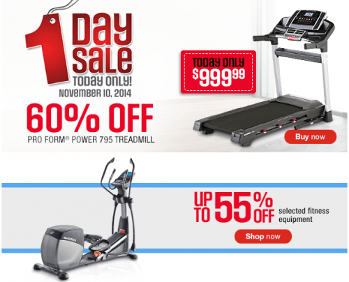 Sears exercise equipment printable coupons