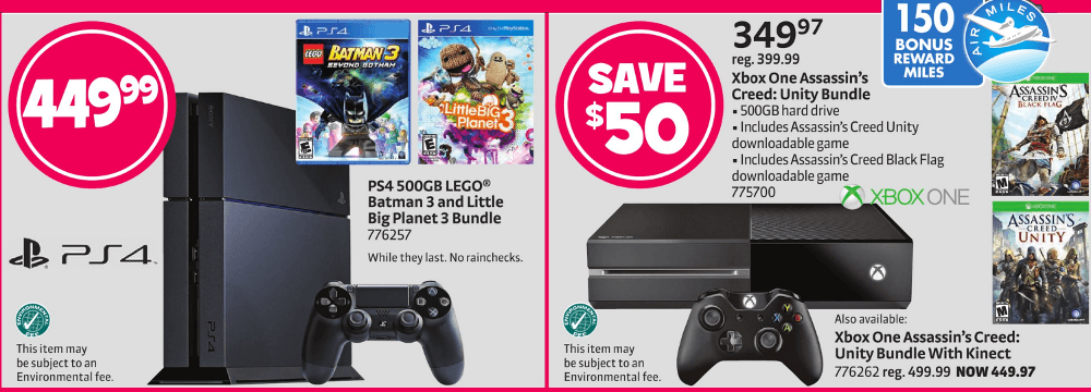 Unity Auto Sales >> Roundup of Black Friday Canada Deals on the PlayStation 4 ...