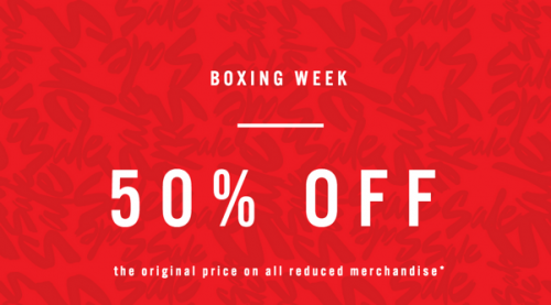 ALDO Canada Boxing Week sale and Offers