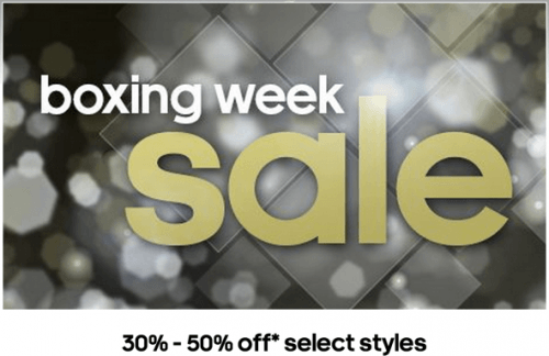 Adidas Canada Boxing Day Promos